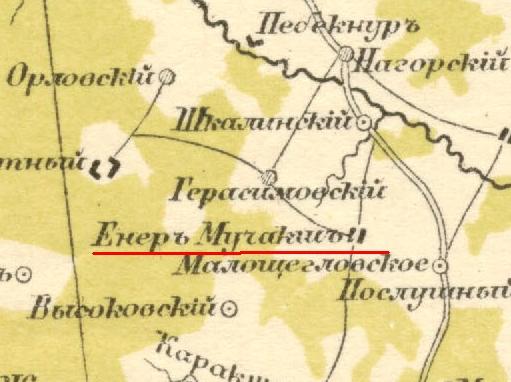 Карты стрельбицкого с привязкой - e