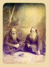Основатели Александро-Невского монастыря: преподобный Стефан Филейский и Исихий
