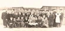 Учащиеся Раздельновской начальной школы, 1959 год (из книги В.Шапши)