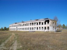 Руины 2-этажной средней школы. Источник: группа Чернореченский на сайте ok.ru