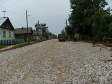 Фото Ел.Стародумовой. В 2013г. в д.Слудка построена дорога.