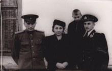 Первый директор Бочина А. А. с семьёй