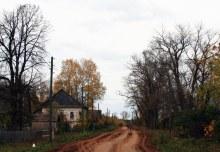 Верхосунье, часть главной улицы Ленина (автор фото Екатерина Нелюбина)