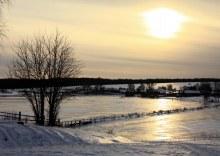 Верхосунье, местный пруд, река Суна, зима (автор фото Екатерина Нелюбина)