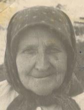 Мохова Анна Степановна 60-70гг. ХХ века