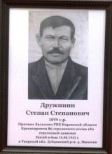 Дружинин Степан Степанович