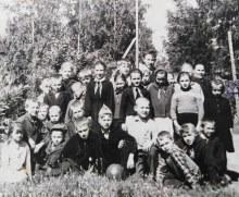 детки Липовской школы 1968 год
