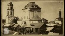 Торговый ряд на территории монастыря