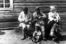 Плетение лаптей в Фатеево