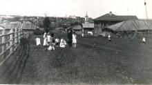с. Хлыновка, вид в сторону г. Вятка. 1913 г. Автор: М. И. Палкин