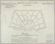 """""""Екатериненский"""" план г. Глазова, 1784 год"""