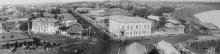 Вид на западную часть г. Глазова с колокольни собора. 1910-1914 гг.