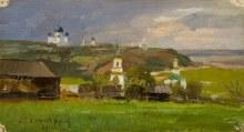 «Вятка», 25 мая 1900 г. Художник Н. Н. Хохряков (1857 – 1928).