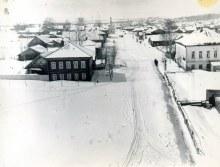 с. Хлыновка. Вид с колокольни Спасо-Хлыновской церкви. Фот. Палкин М.И. 1913 г.