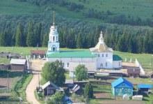 Храм села Ношуль сегодня. Фот. Рашковский А. (?)