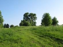 Центральная часть деревни, вид с юго-запада. Фот. Лысов Д.С. 07.06.13