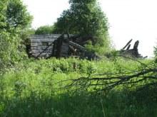 Южная часть деревни, еще один дом. Фот. Лысов Д.С. 07.06.13