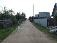 Юго-западный край деревни. Фот. Лысов Д.С. 29.07.14