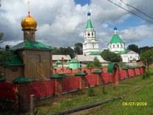 с. Пиксур. Общий вид монастыря
