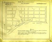 план Вятского наместничества городу Котельничу, 13.08.1784 год