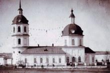 Истобенск. Церковь Троицы Живоначальной