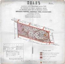 План поселенческого участка Большого Лимана (Белянского) № 47 (ГАПК Ф.716.Оп.3.Д.2313)