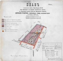 План участка Верх-Слудского № 43. 1899 год. ГАПК. Ф.716.Оп.3.Д.2315