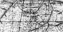 Гниловка на топографической карте ок. 1940 г.