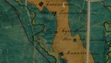 Фрагмент ПГМ Глазовского уезда (нач. XIX века)