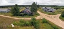 Панорама разрушенного посёлка. Фото Дениса Логиновского, 2014.
