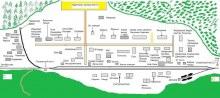 План станции Раздельная на конец 1970-х гг. Составил Виталий Засухин