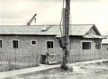 Строятся жилые кирпичные дома, июнь 1983 г. [Ом.рай.арх., ф.80]