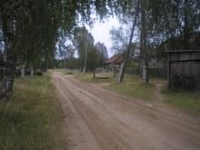Улица посёлка (фото Юрия Исакова, сайт www.vyatlag.ru)