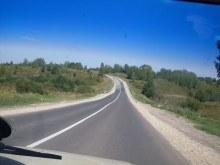 Дорога в деревню со стороны г.Нолинска