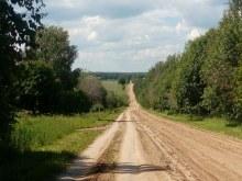 Дорога в село от Казанского тракта.