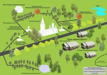 Карта села находится в музее с.Ошеть.