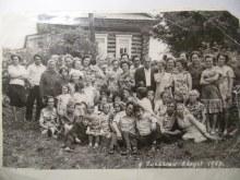 1978г. Много было жителей в деревне.