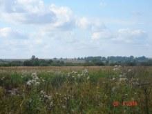 Вдали-Нижние Ряби и Шиляи  на левом берегу р.Суны. Фото сделано с правого берега реки.
