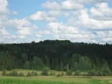На горе  была деревня Повиляги.