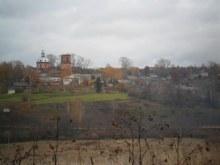Село со стороны д.Перескоки.