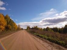 д. Зимино. Северная часть. Въезд со стороны Песковки. Сентябрь 2015 г. фото А.Г. Пушмин