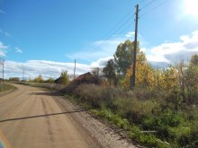 д. Зимино. Северная часть. Сентябрь 2015 г. фото А.Г. Пушмин