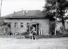 В этом доме жили учителя.1980 г