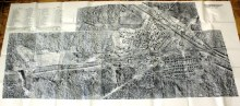 Фотоплан поселка и нижнего склада. Аэрофотосьемка 1959г.