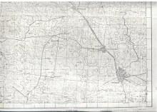 Главное управление геодезии и картографии при Совете Министров СССР. Масштаб 1:100 000. 1970 год