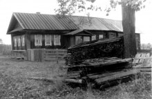 Дом Коркиных, 1985 год.