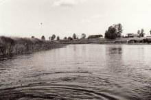 Редькино. Вид с Ошмы. 1993 год.