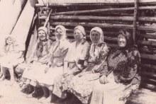 Тимёнские бабушки, около 1960 года