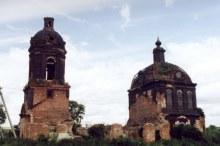 Михайло-Архангельская церковь до реставрации