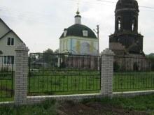 Михайло-Архангельская церковь в процессе реставрации